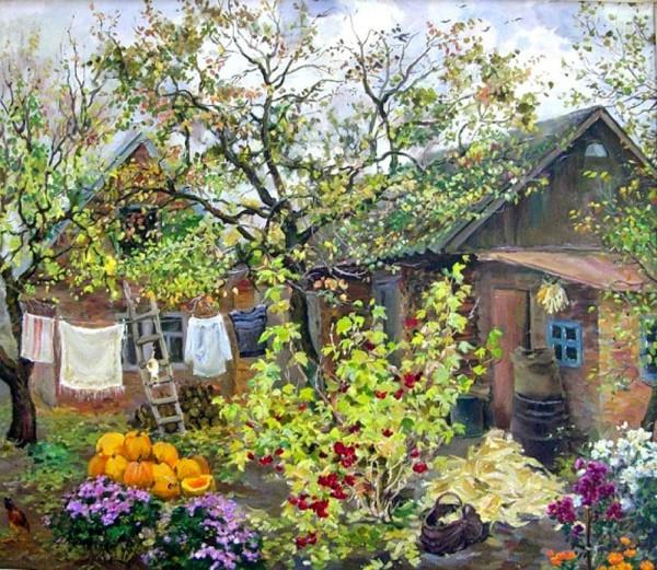 Простые и прекрасные, как сама жизнь, картины Надежды Полуян-Внуковой