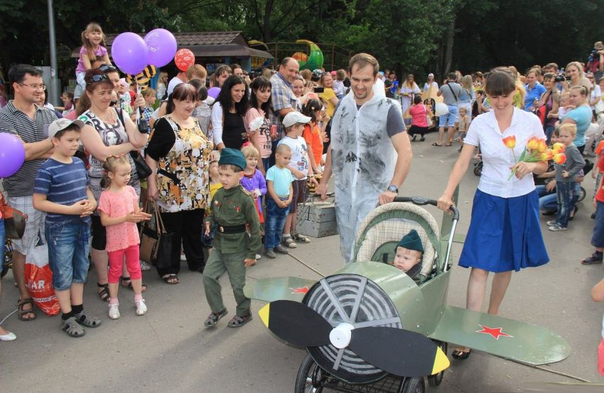 Московский парад колясок