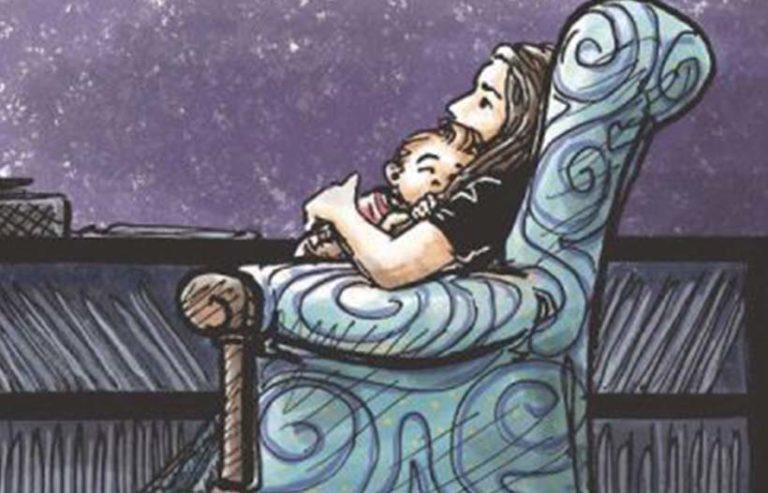 Только это действительно важно : «Мамочка, ты полежишь со мной?»