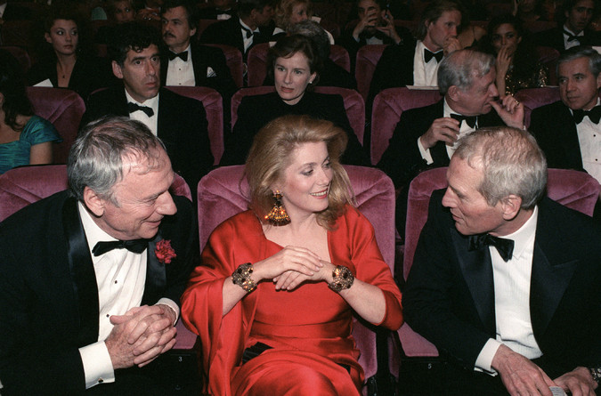 Yves MONTAND,Catherine DENEUVE,Paul NEWMAN - 1987 (675x445, 102Kb)