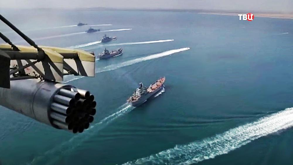 Украинские корабли вошли в и…