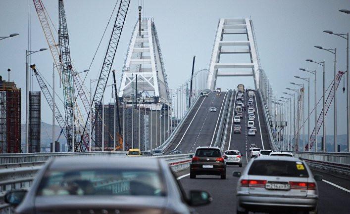 СРОЧНАЯ НОВОСТЬ: обрушился пролет железнодорожной части Крымского моста