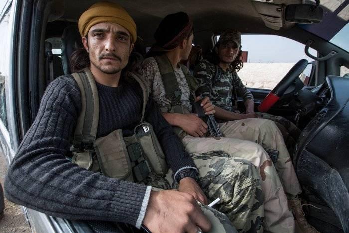 Демократические силы Сирии заявляют, что США поставляют им оружие
