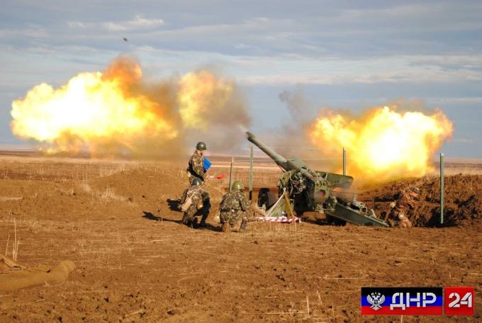 Сводка с линии фронта ДНР на 19 октября