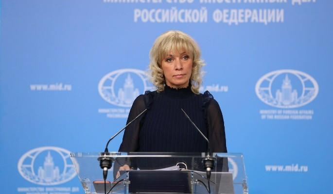 Мария Захарова отвесила опле…