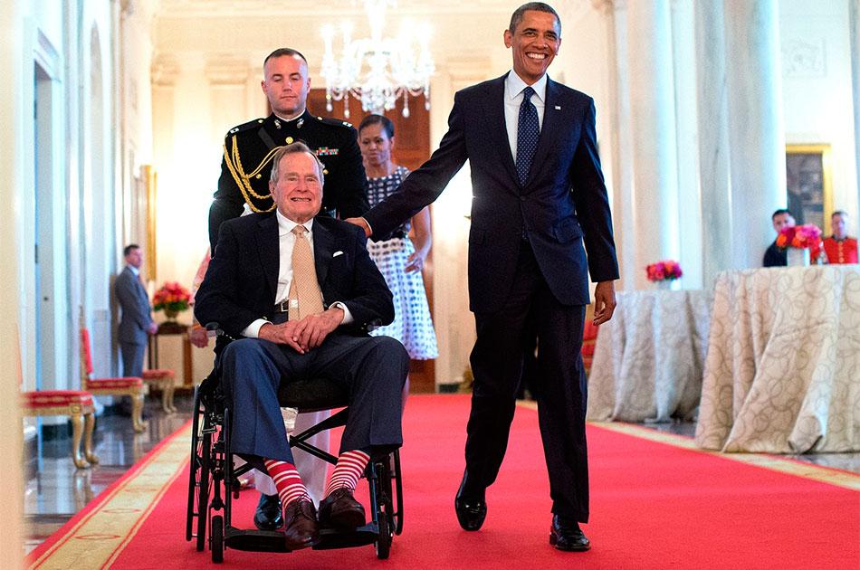 Загадка интервью Буша-старшего о России