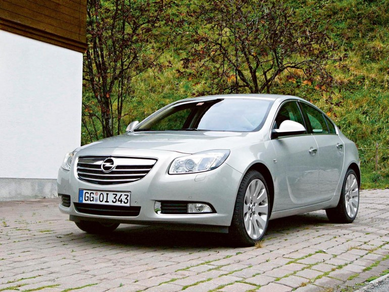 Opel Insignia: три года не возраст
