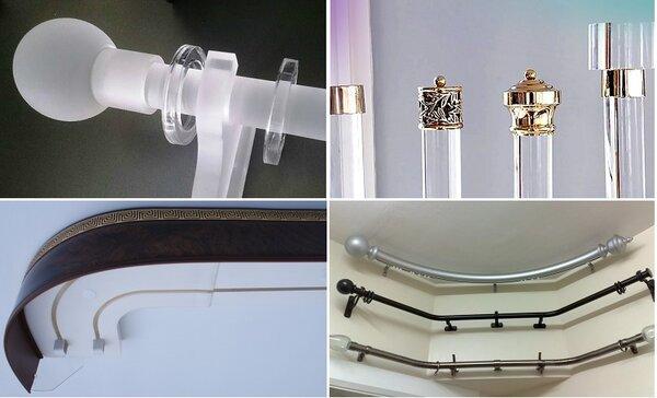 Как правильно подобрать карниз для любого типа окна. Полный анализ и варианты выбора