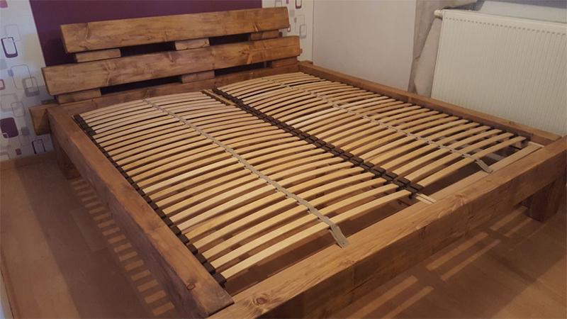 Как обновить деревянную кровать своими руками 80