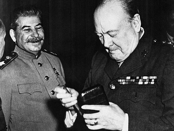 Как на самом деле Черчилль о…
