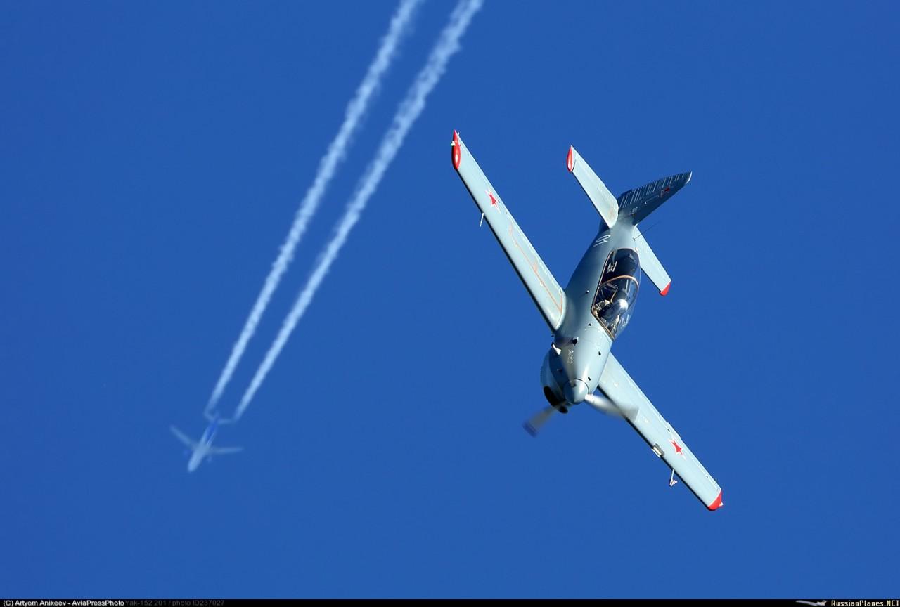 Министерство обороны России собирается приобрести 230 винтовых учебно-тренировочных самолетов