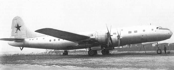 Среднемагистральный пассажирский самолет Ту-70