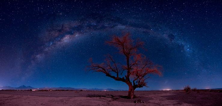 Космические пейзажи на Земле