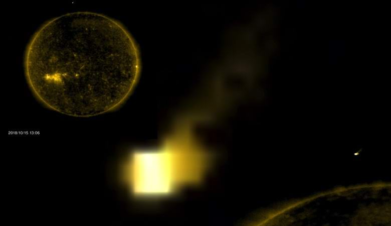 Возле Солнца заметили куб размером с нашу планету