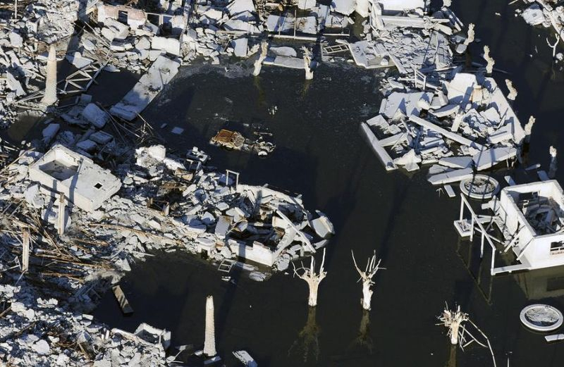 Город пробыл 25 лет под водой город, катастрофа