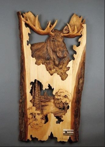 Удивительные работы из дерева. У этого мастера золотые руки и отличная фантазия!