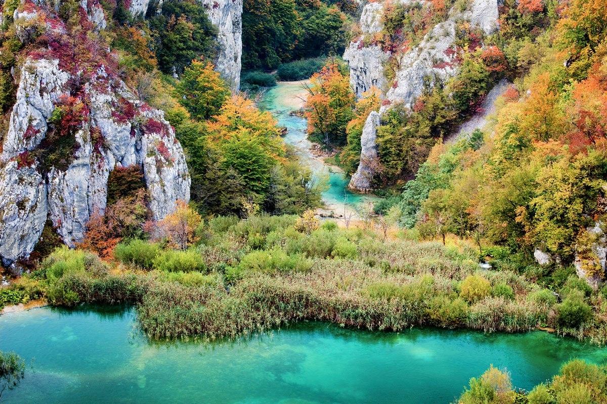 Великолепные Плитвицкие озера, Хорватия