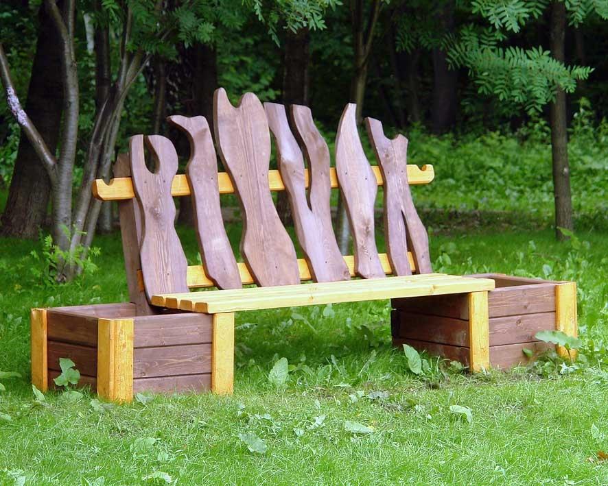 Идеи скамейки своими руками