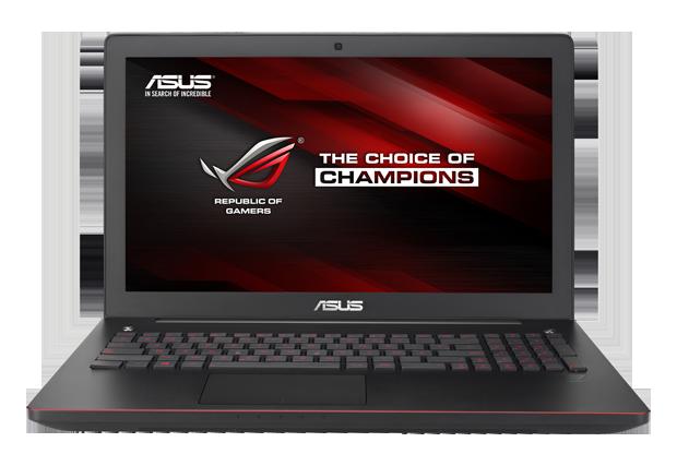 G550JK - новый игровой ноутбук от ASUS