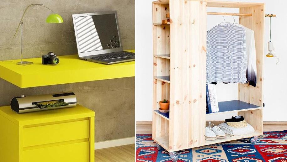 10 предметов мебели, которые сэкономят вам пространство