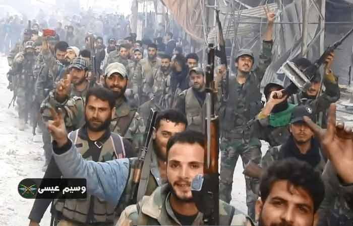 Россия наносит Западу очередной сильный удар под Дамаском