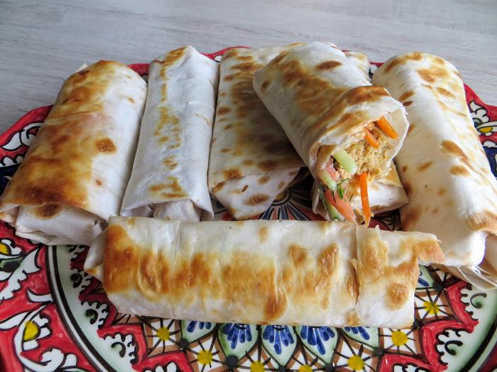 Домашняя шаурма с сосисками Шаурма, Другая кухня, Приготовление, Вкусно, Видео рецепт, Видео, Длиннопост, Рецепт