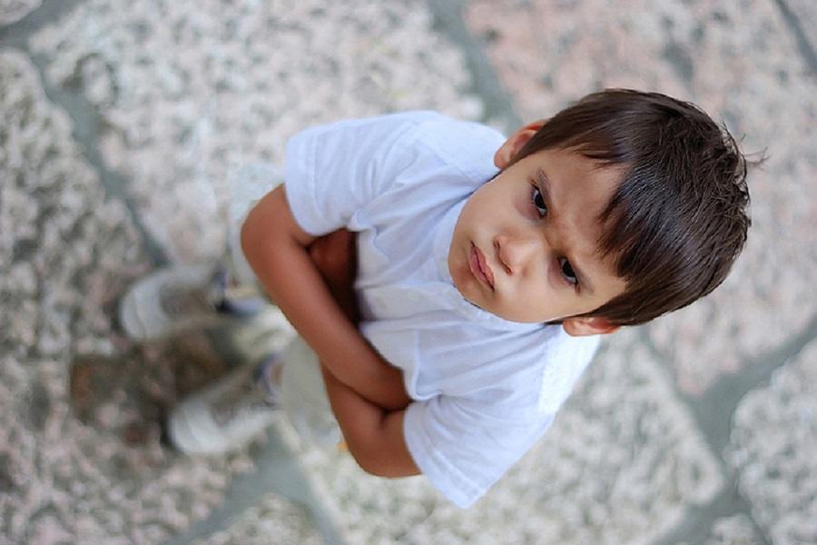 Ненормальный ребенок затерроризировал весь детский сад