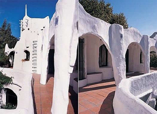 Тропический дом становится живой скульптурой
