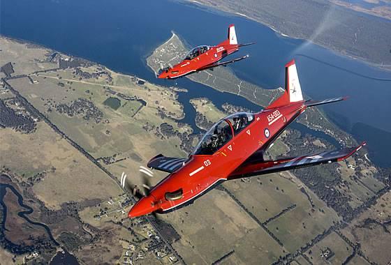 ВВС Австралии получили первые учебные самолеты PC-21