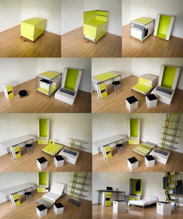 17 предметов мебели-трансформера, чьи возможности значительно шире, чем кажется