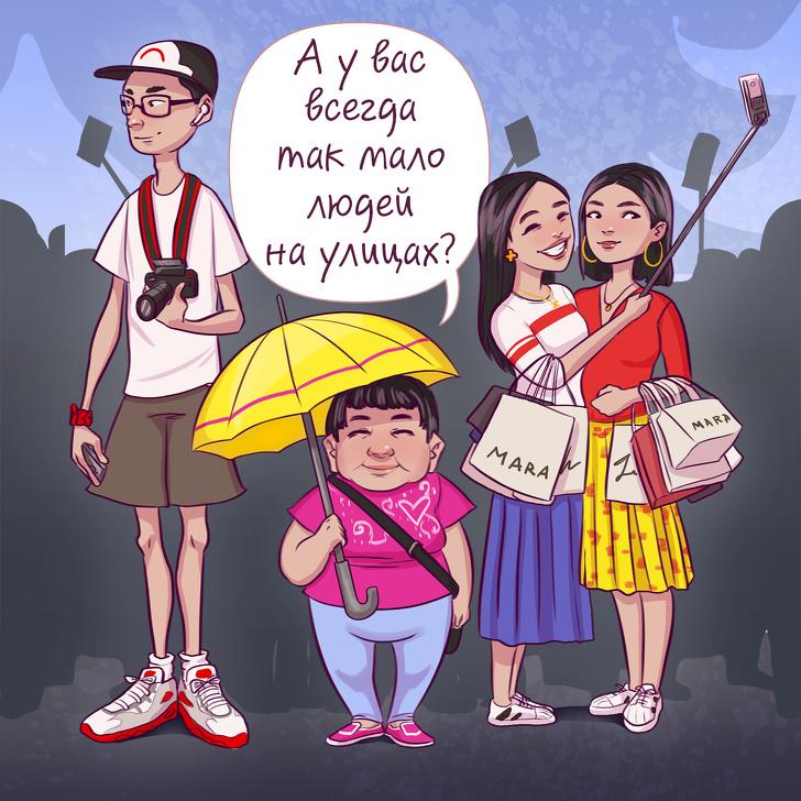 Особенности туристов, по которым можно без слов понять, из какой они страны