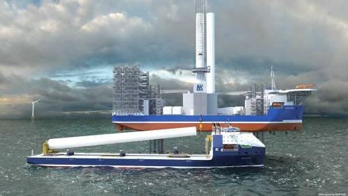 Первое в мире: одобрен проект крупнейшего судна для перевозки турбин