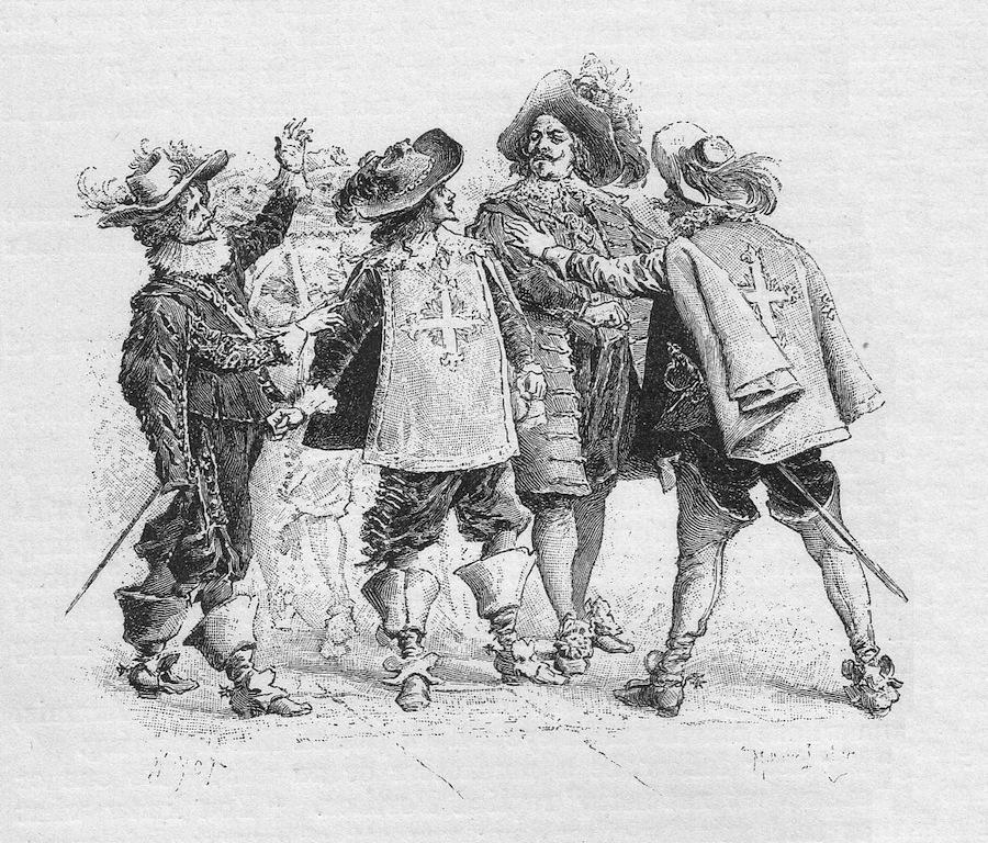 5 фактов о настоящем авторе «Д'Артаньян и три мушкетёра» – Огюсте Маке, и его соперничестве с Дюма-отцом