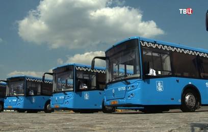 Автобусный парк Москвы полностью обновят до конца 2018 года