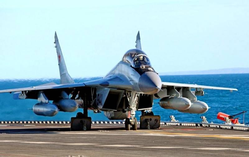 Самый-самый: Палубный истребитель МиГ-29К