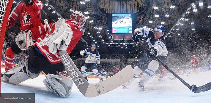 Канадские хоккеисты устроили…