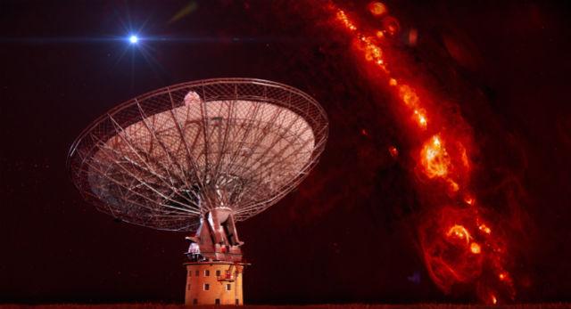 Зарегистрированы короткие всплески мощного космического радиоизлучения неизвестной природы.