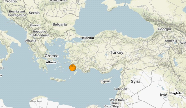 Турция. Землетрясение магнитудой 6.7