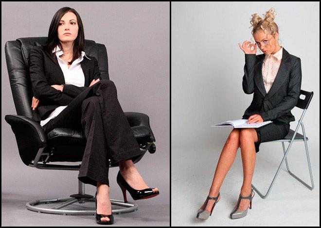 Девушки – деловой стиль одежды, фото