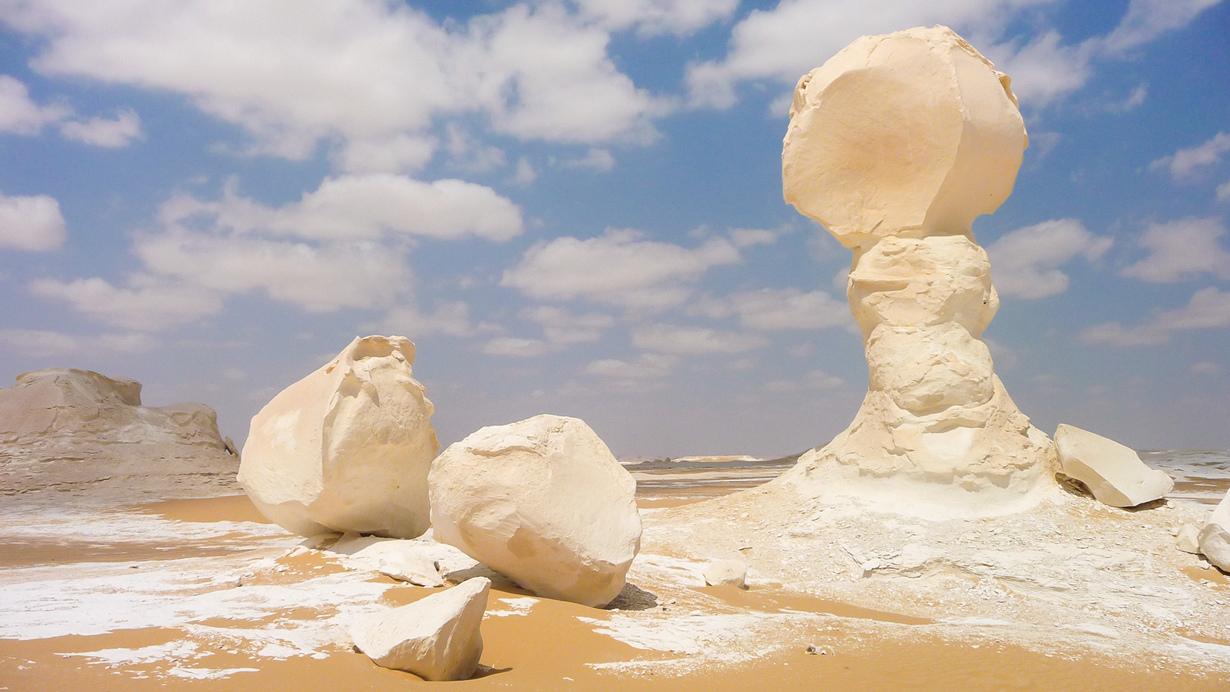 Египет. Белая пустыня. (BeeFortyTwo)