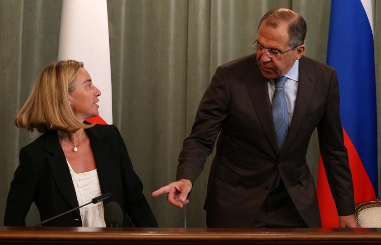 Лавров осадил Могерини по вопросу о Крыме