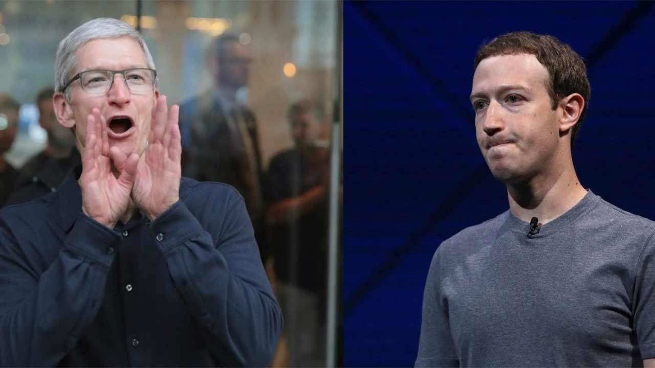 Главы Facebook и Apple поспо…