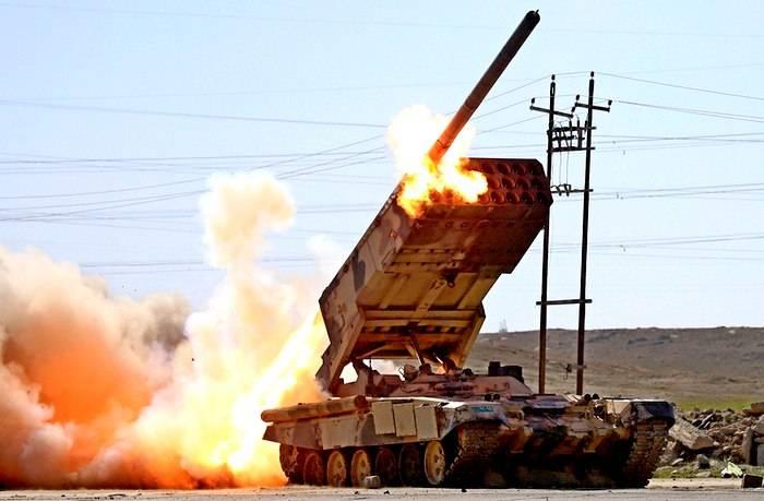"Пуски американских ракет по ""Солнцепёку"" и танку Т-90"