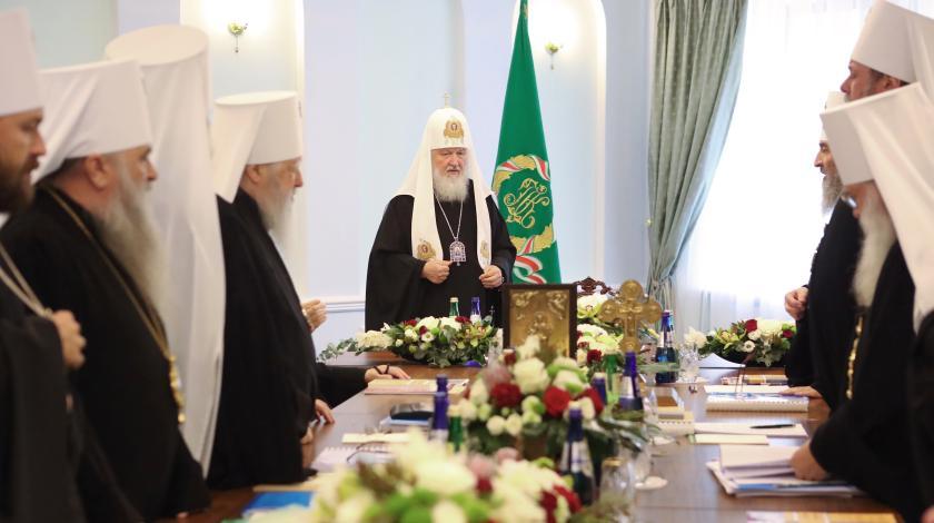 РПЦ разрывает связь с Константинопольском патриархатом