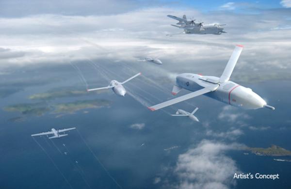 Американское агентство DARPA разрабатывает проект многоразовых БПЛА, запускаемых с самолета.
