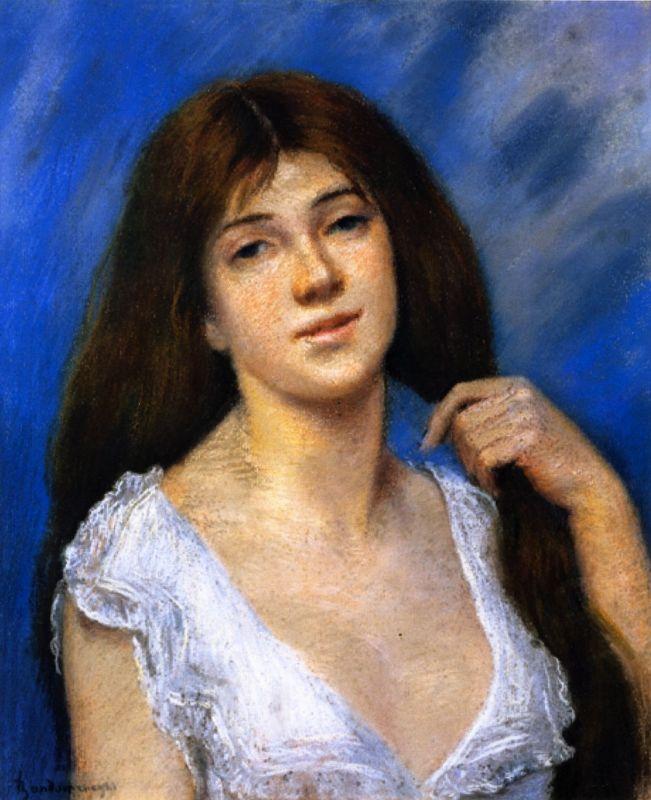 Не двинет тонким пальчиком красавица… Итальянский художник Федерико Дзандоменеги (1841-1917)