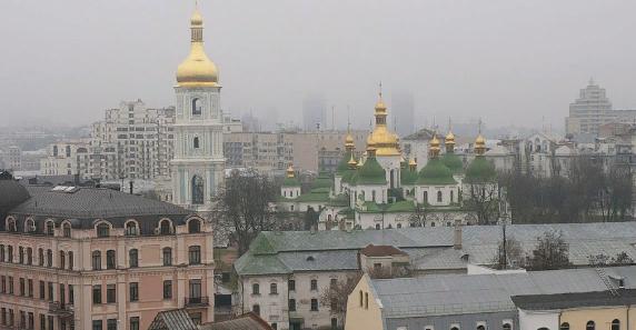 Украине холодно