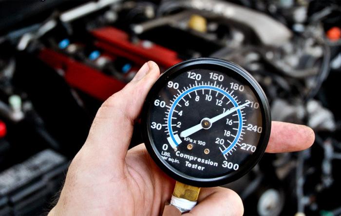 Обязательно проверить давление в цилиндрах. |Фото: drive2.ru.