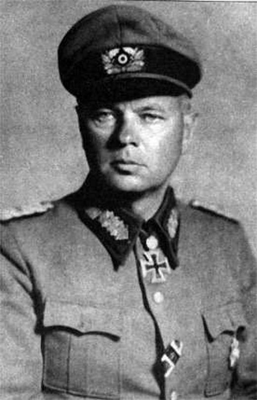 Гельмут фон Паннвиц. Коллаборационисты и их участь