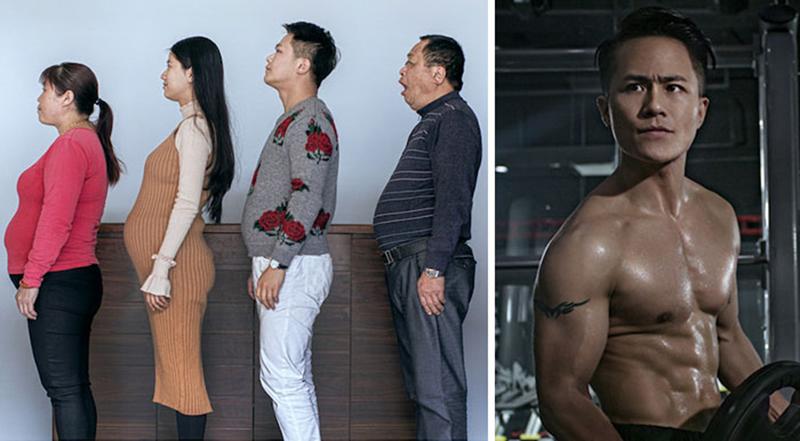 Вместе весело худеть: как 6 месяцев спорта изменили семью из Китая